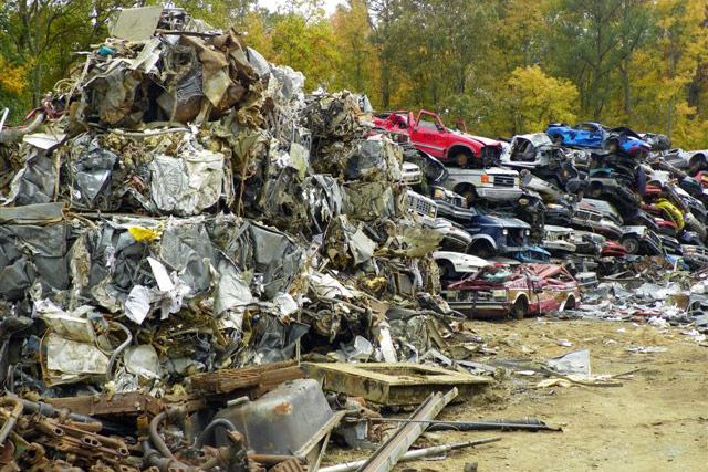 Yard Tour - Fayetteville Metal Recyclers Yard